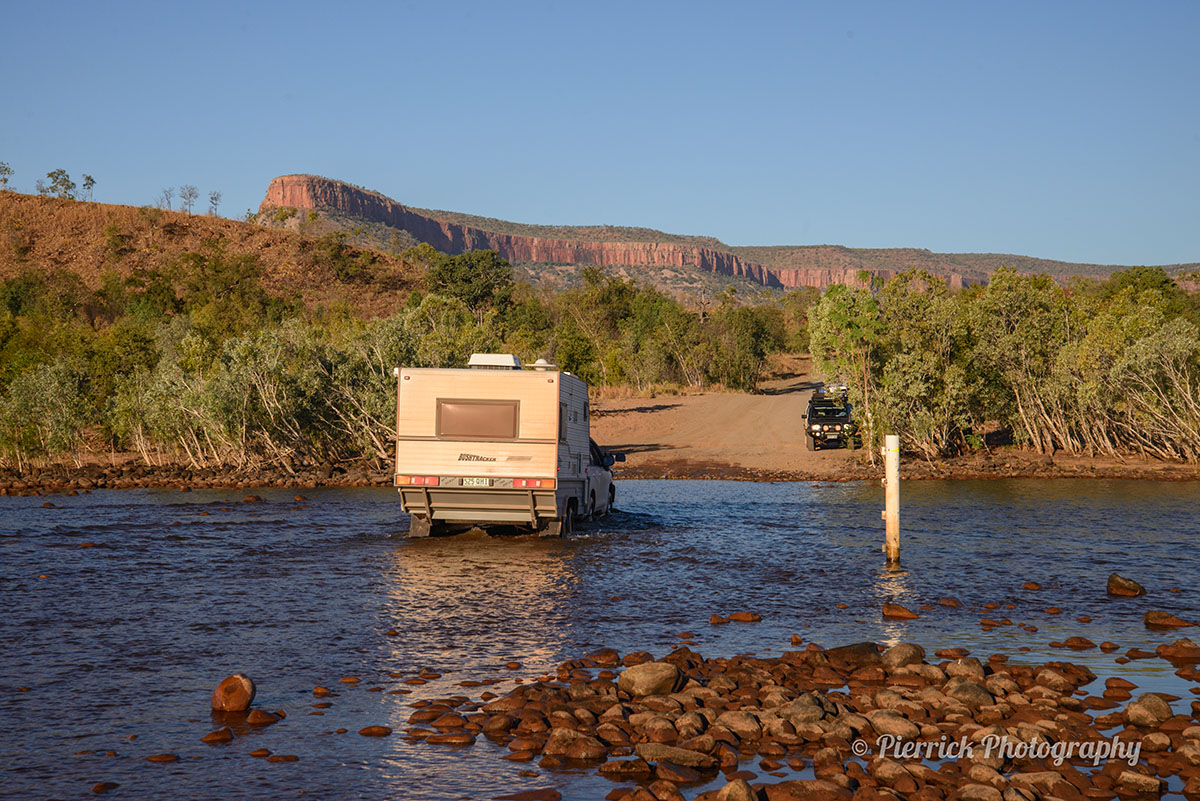 Pencost river sur la Gibb river road en Australie