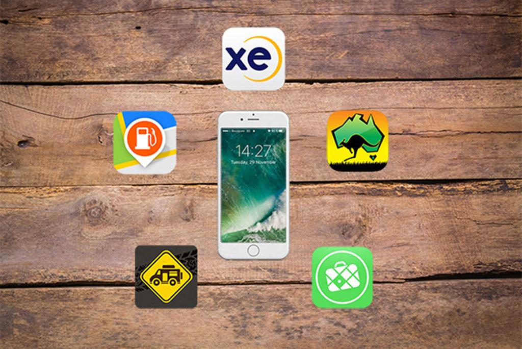 applications pour smartphone pour voyager en Australie