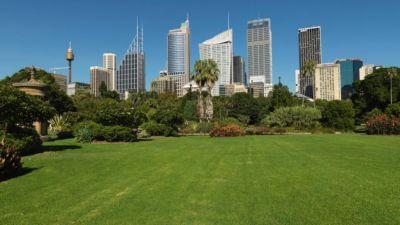 Hyde park à Sydney