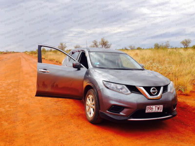 Nissan X-Trail - Location road trip Australie