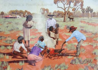 Tribu d'aborigènes