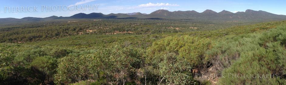 Wangara lookout sur Wilpena pound à Flinders ranges