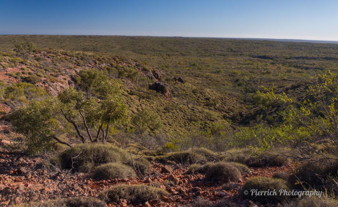 Thomas Carter Lookout dans le parc national Cape range