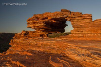 Les formations rocheuses zébrées du parc national Kalbarri