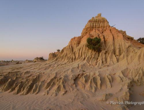 Mungo et sa muraille de Chine de sable
