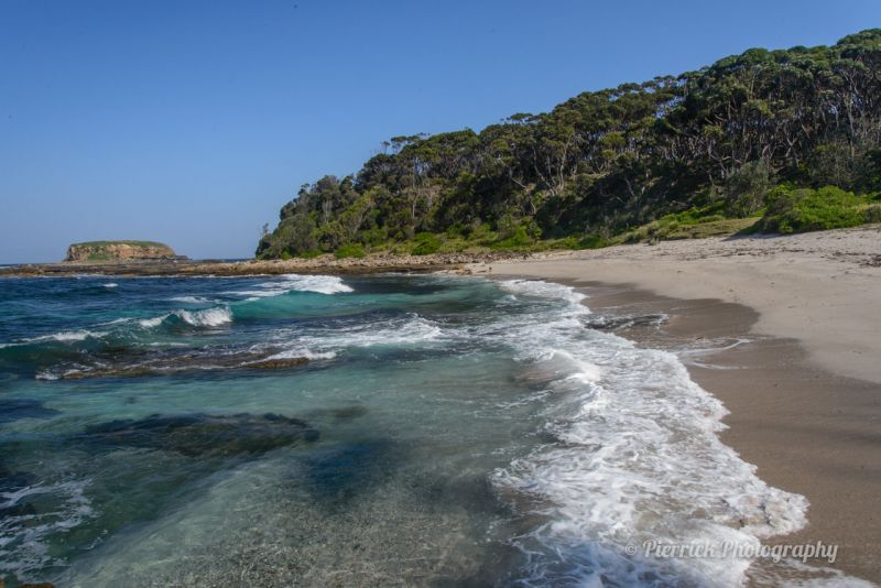 Plage de Pretty dans le parc national de Murramarang