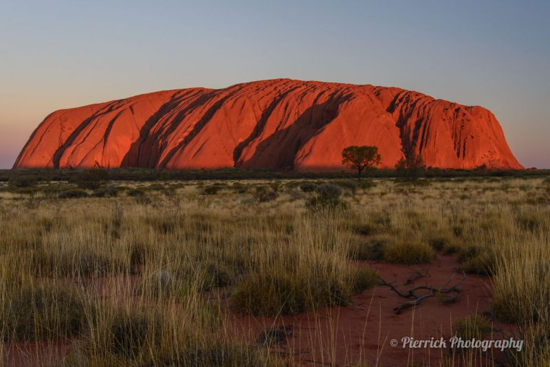 Uluru - Ayer rock - Coucher de soleil