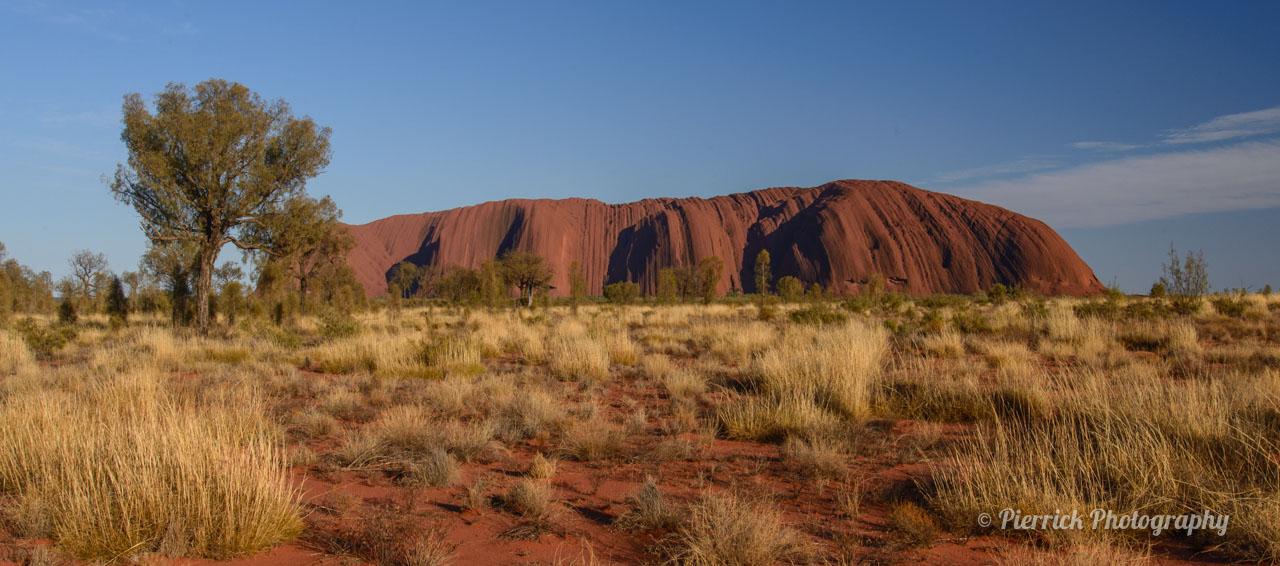 Uluru - Ayer rock - Lever de soleil