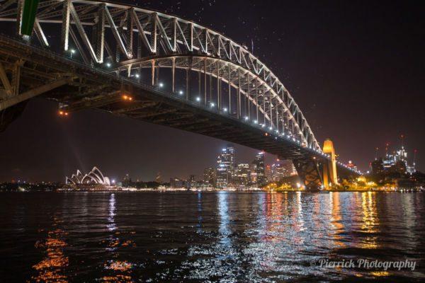 Pont de Sydney avec sa skyline