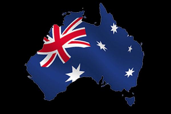 Voyager en Australie - Drapeau