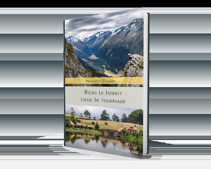 Couverture Ebook Lieux de tournage du Hobbit en Nouvelle-Zélande