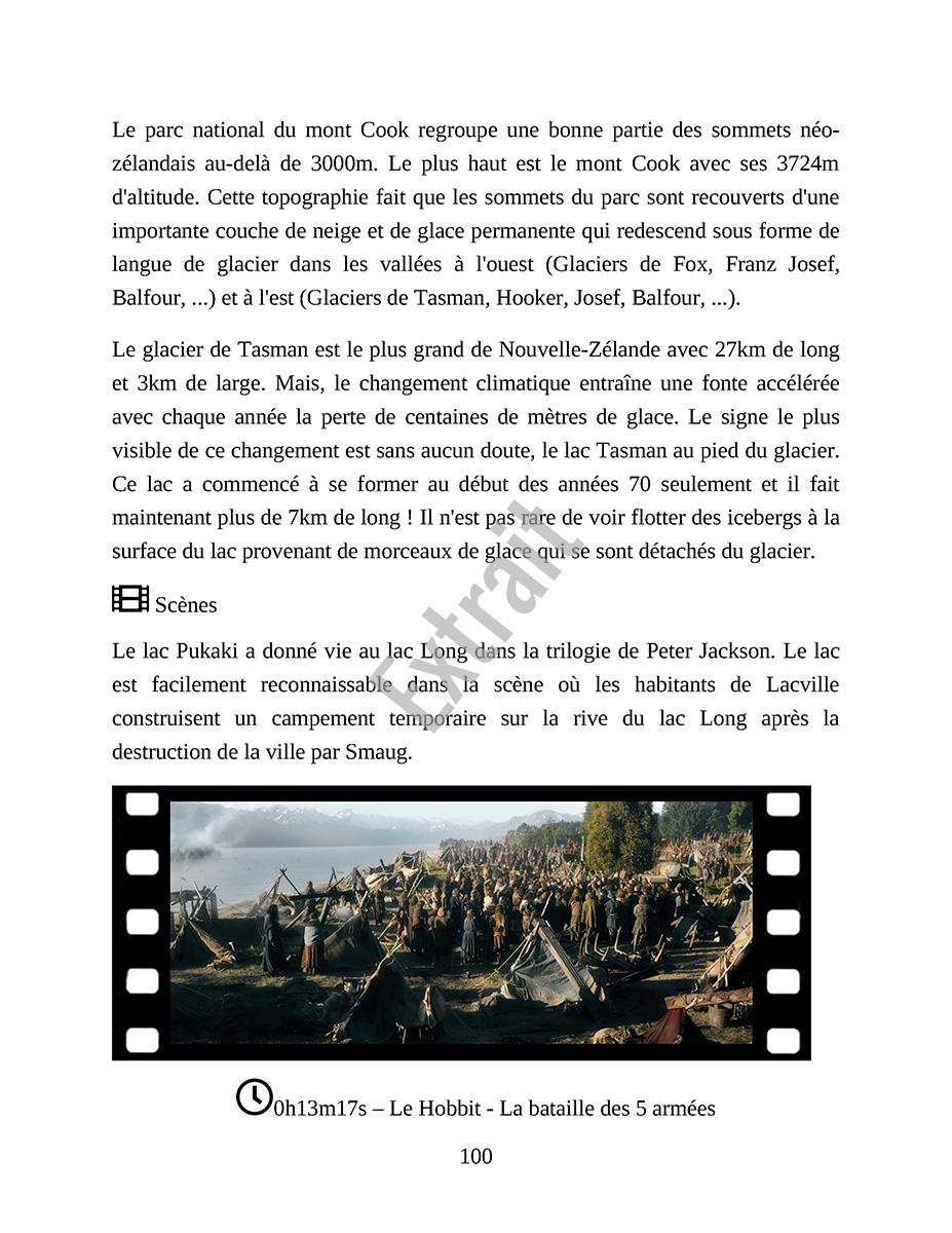 Extrait Ebook Lieux tournage Hobbit - Page 3