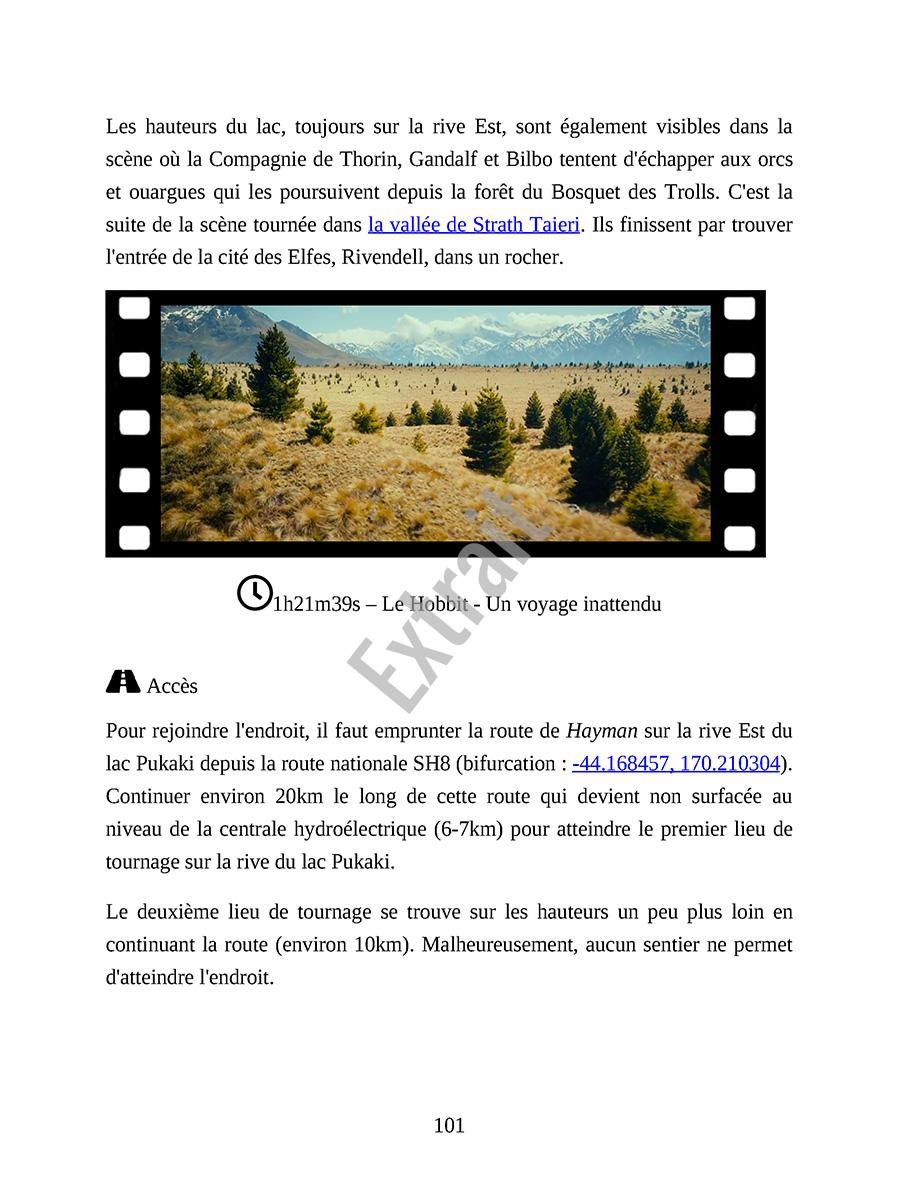 Extrait Ebook Lieux tournage Hobbit - Page 4