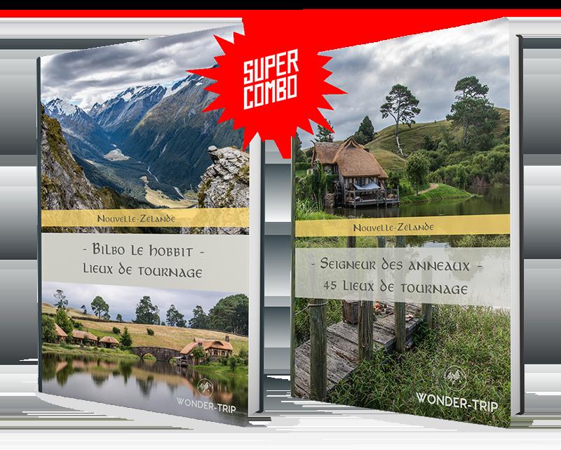 Ebook Lieux de tournage Seigneur des anneaux et Hobbit en Nouvelle-Zélande