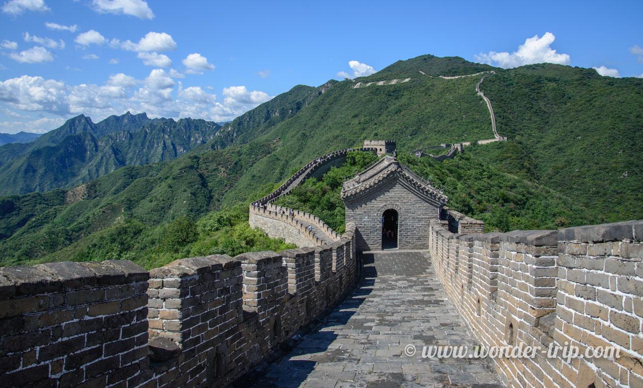 Muraille de Chine à Mutianyu