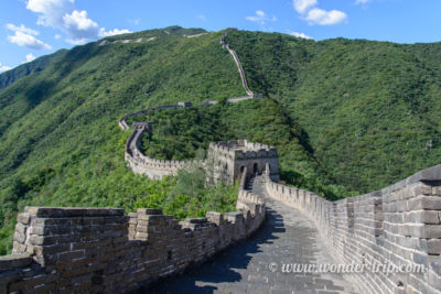 Notre vision de la Grande Muraille de Chine à Mutianyu