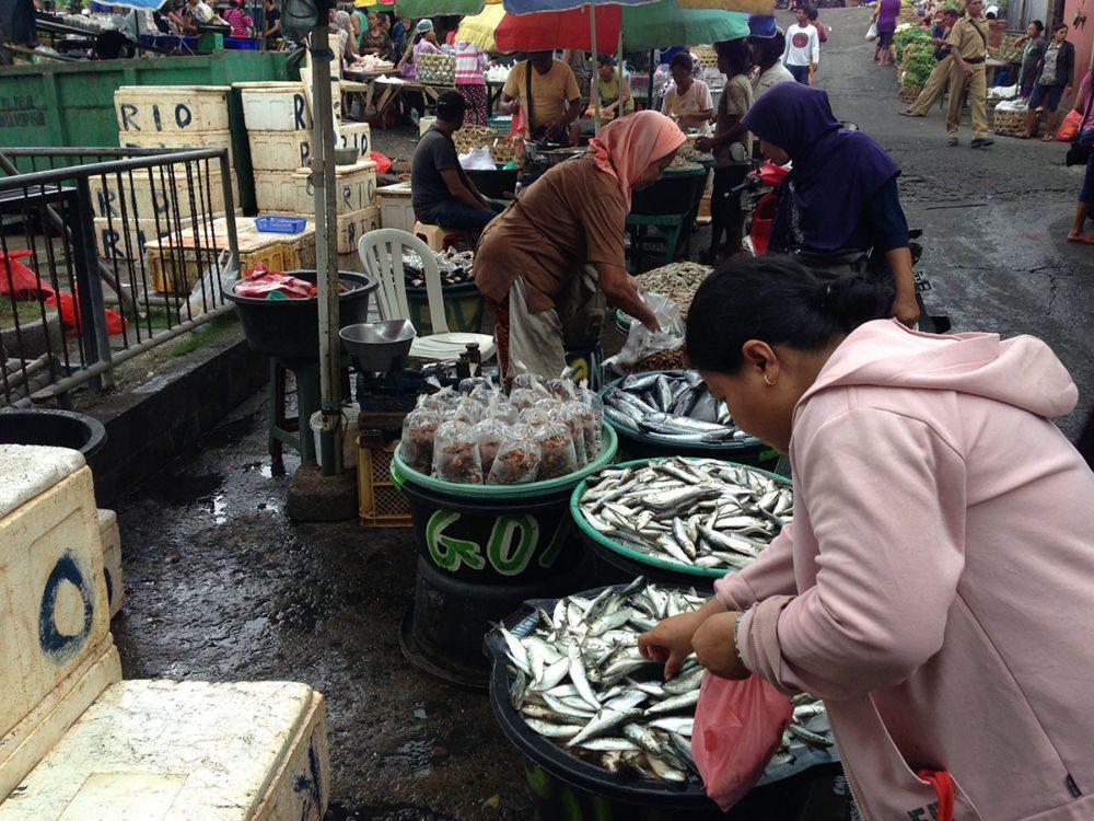 Marché de Padar Balang à Denpasar sur Bali