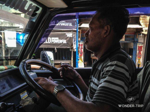 Chauffeur du trajet Bali à Sembalun Lawang