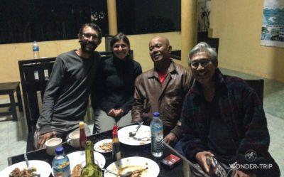 Rencontre à Sembalun Lawang