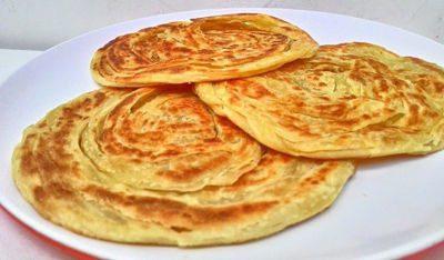 Cuisine indonésie - Dessert - Roti Maryam