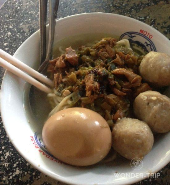 Cuisine indonésienne - Plat - Bakso