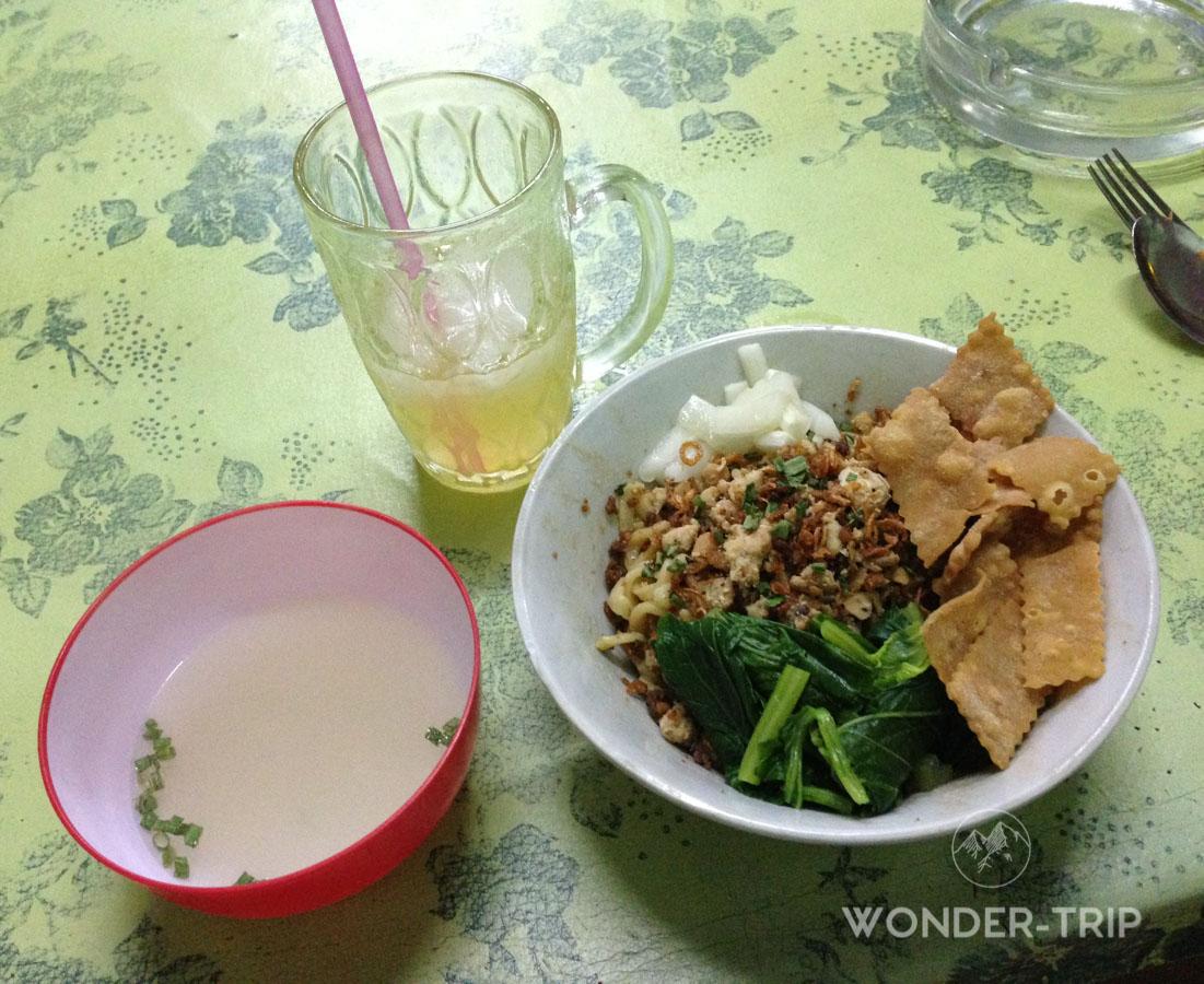 Cuisine indonésienne - Spécialité locale - Boisson - Es jeruk