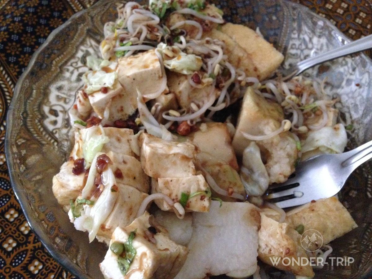 Cuisine indonésienne - Plat - Kupat Tahu
