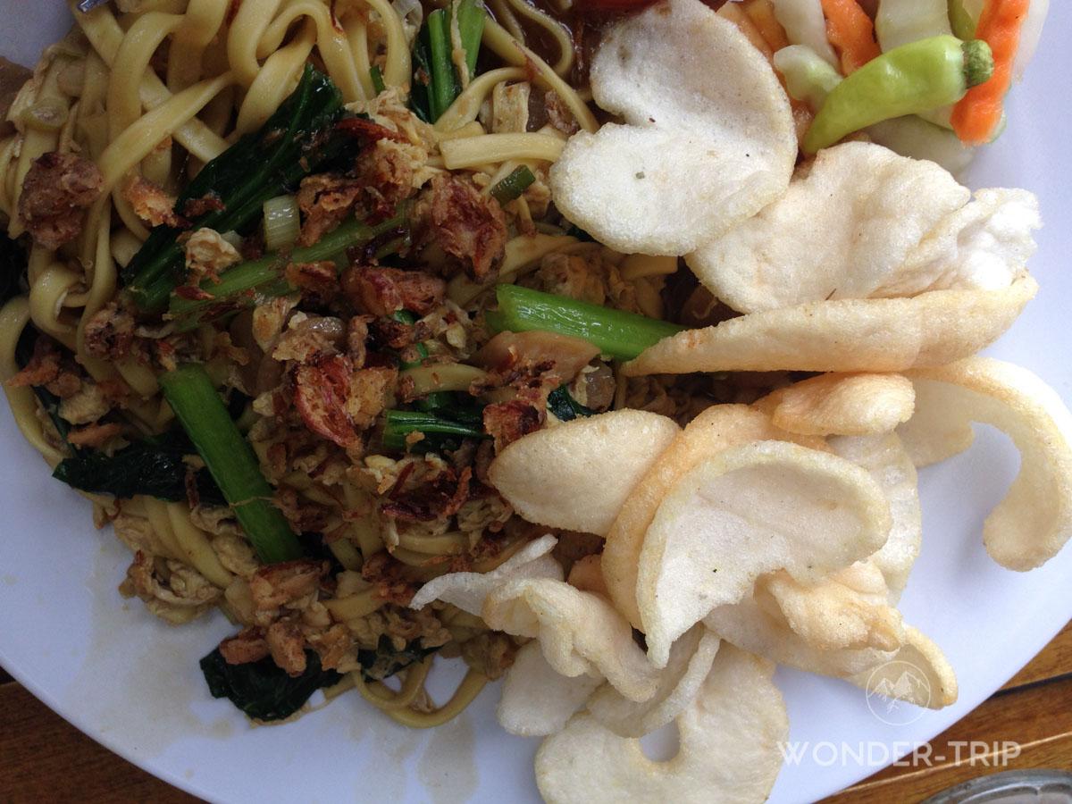 Cuisine indonésienne - Plat - Mie ayam