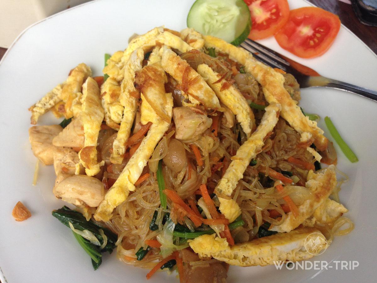 Cuisine indonésienne - Plat - Mie goreng