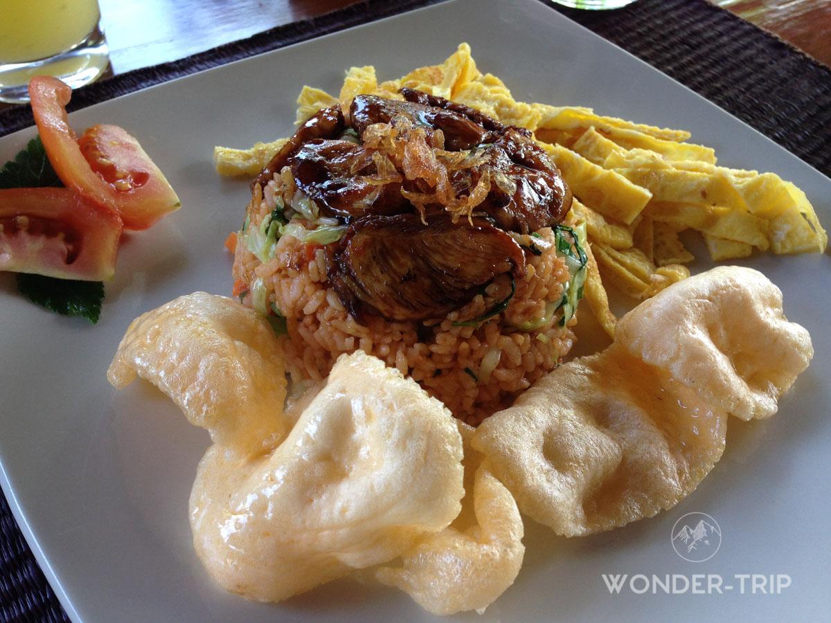 Cuisine indonésienne - Plat - Nasi goreng