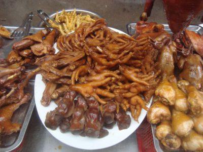 Cuisine indonésienne - Plat - Patte de poulet