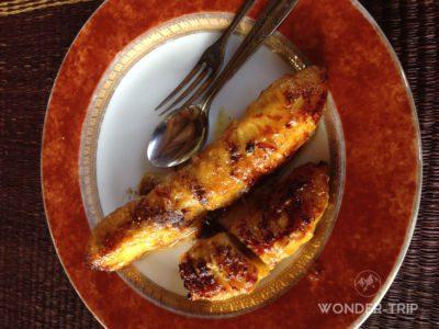 Cuisine indonésie - Dessert - Pisang goreng