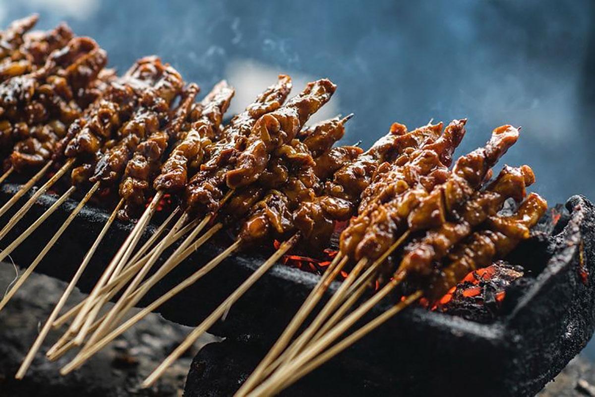 Cuisine indonésienne - Plat - Satay ayam