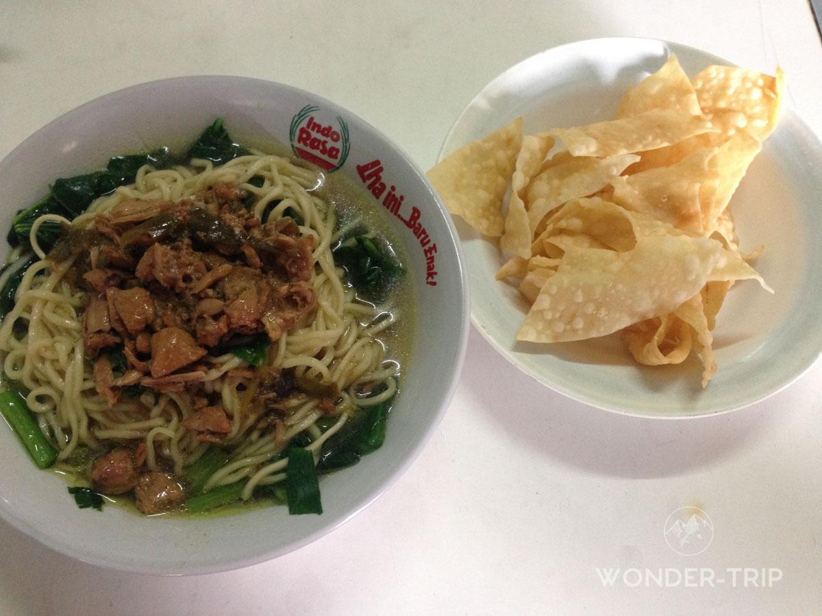 Cuisine indonésienne - Plat - Soto ayam