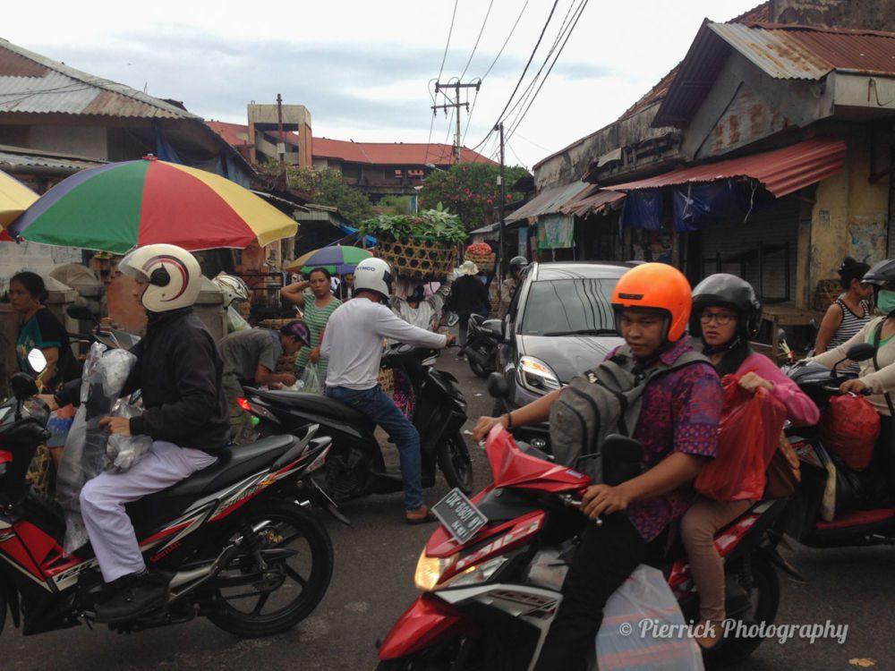 Circulation à Denpasar à Bali
