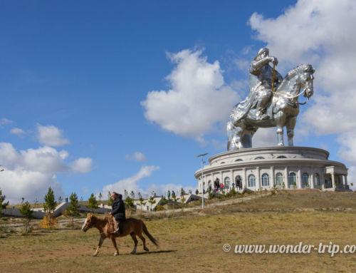 Excursion à cheval à la statue de Chinggis Khaan