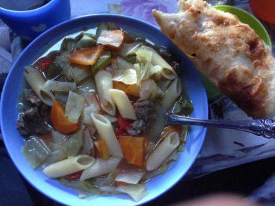 Cuisine en Mongolie - Pain en accompagnement