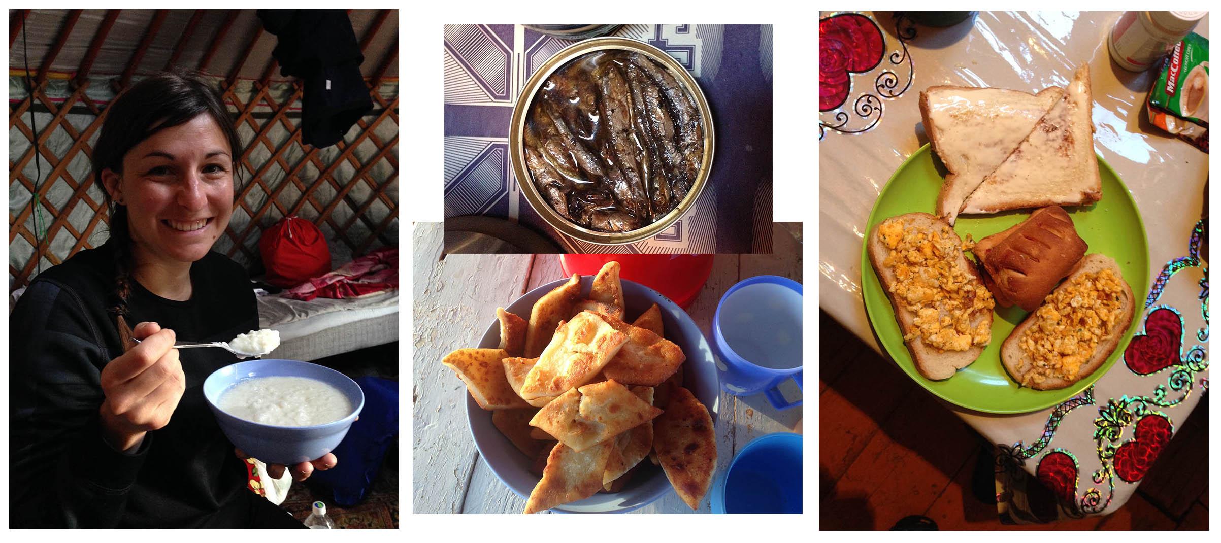 Cuisine en Mongolie - Petit déjeuner