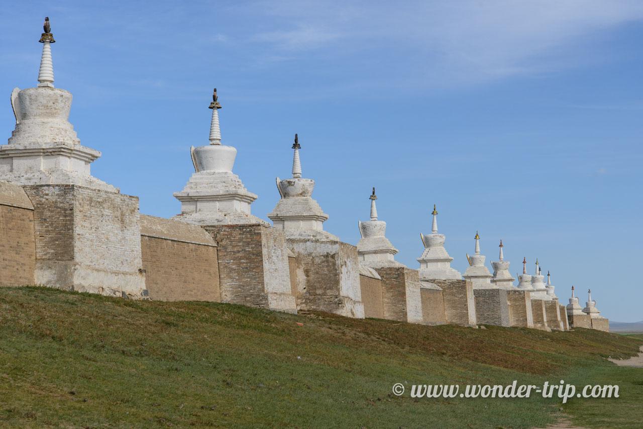 Monastère Erdenet Zuu à Kharkhorin