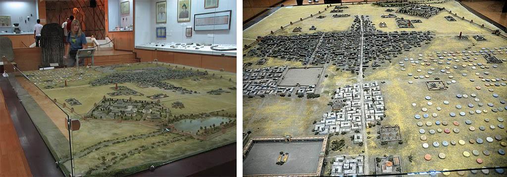 Khakhorin - Musée avec reproduction modèle réduit de la ville