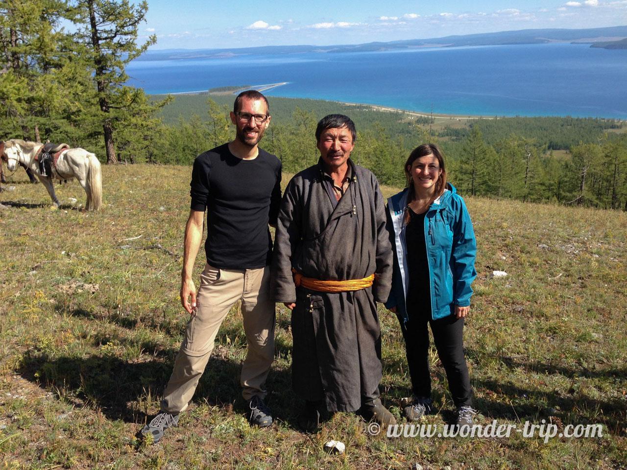 Expédition à cheval autour du lac khovsgol en Mongolie