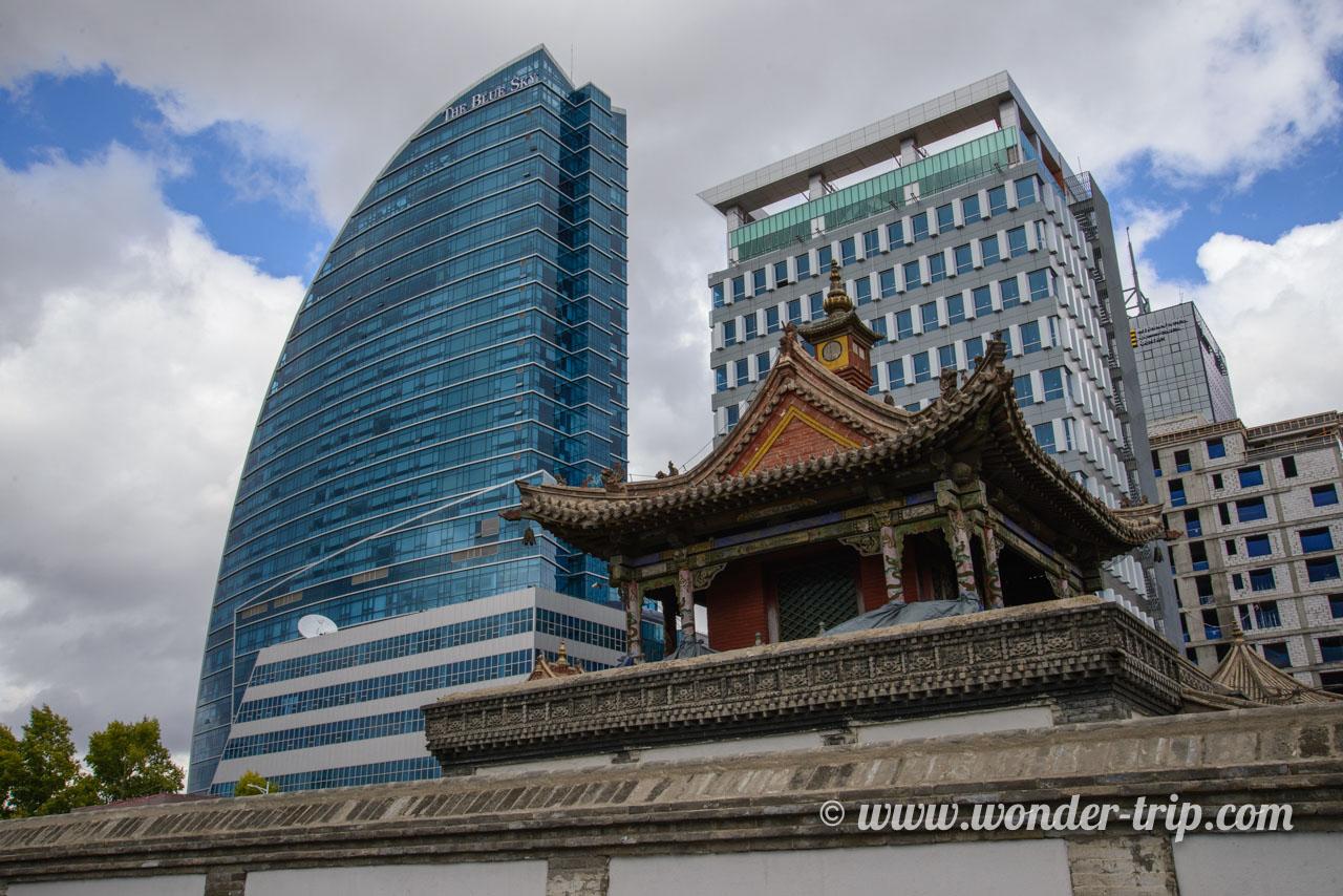 Choijing lama temple à oulan-bator