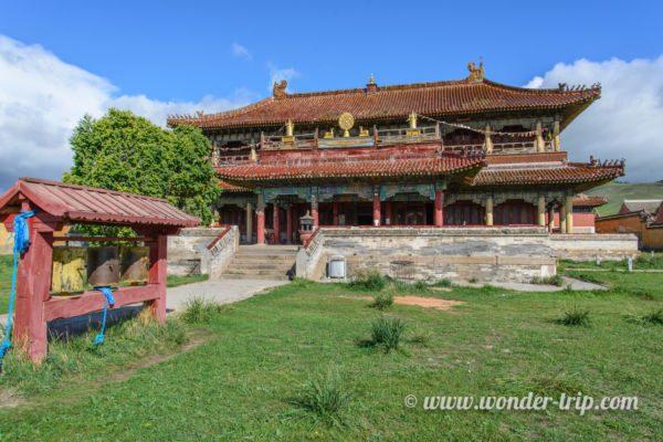 Monastère Amarbayasgalant Khiid en Mongolie