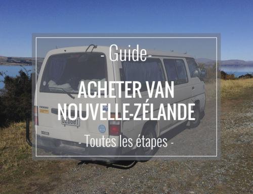 Acheter un van en Nouvelle-Zélande pour partir en road-trip