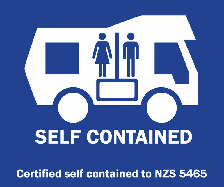 Autocollant pour véhicule autonome (self-contained)