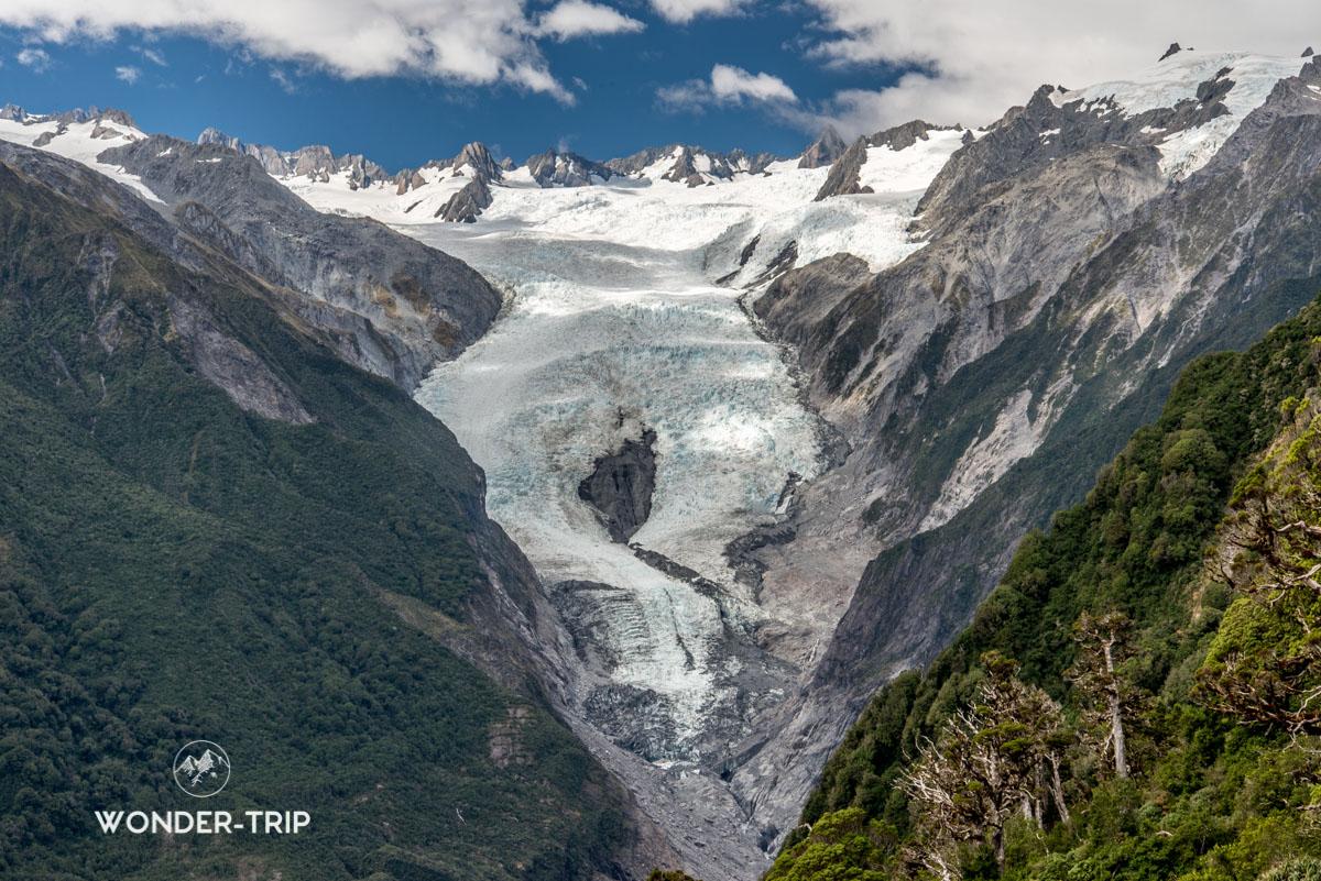 Randonnée d'Alex Knob au glacier Franz Josef