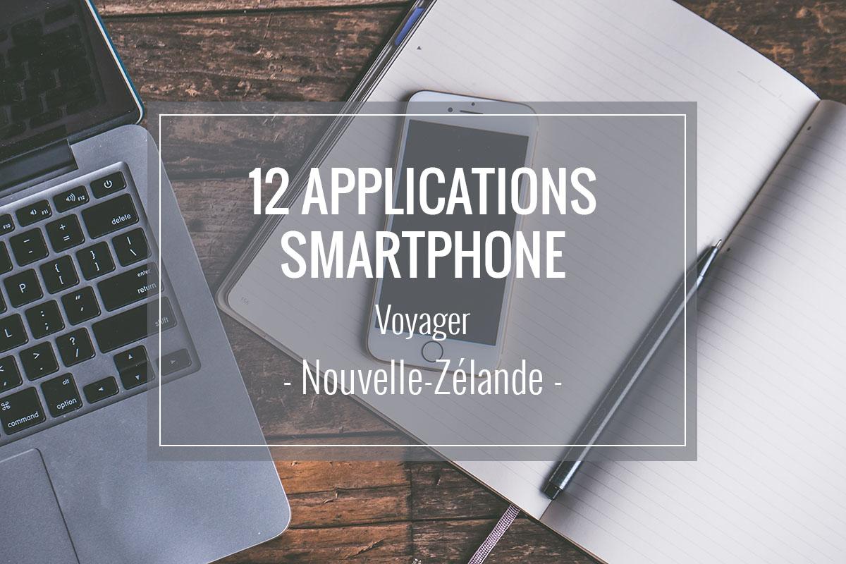 Article sur 12 applications pour smartphone pour voyager en Nouvelle-Zélande