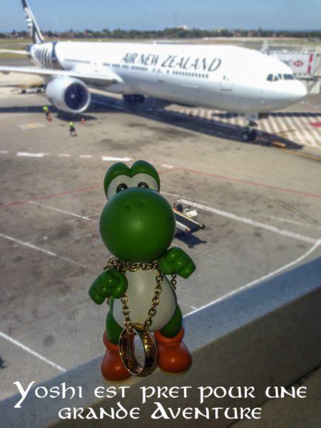 Avion pour Nouvelle-Zélande