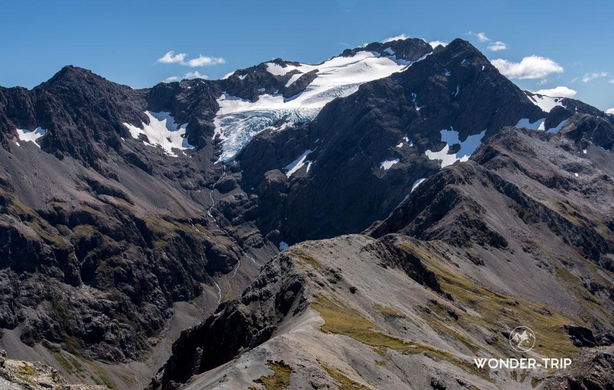 Glacier du mont Rolleston