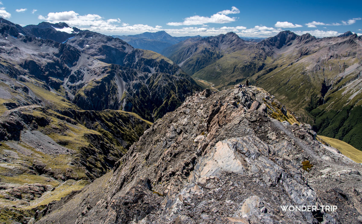 Crête au sommet d'Avalanche peak